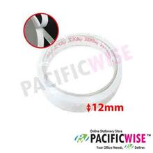 Double Sided Tissue Tape 12mm x 9yds