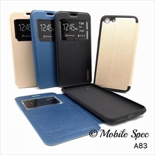 Oppo A83 S View Mercury Flip Pouch Wallet Stand Case