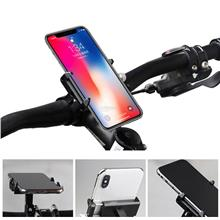 Universal Aluminum Alloy Bike Cycling Motorcycle Handlebar Phone Mount