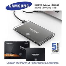 Samsung EVO 860 250GB 500GB 1TB SSD Portable External SSD HDD Win Mac