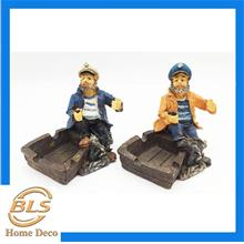 POLYRESIN PIRATE SHAPE ASHTRAY HOME DECORATION 002