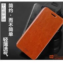 Mofi Lenovo Vibe X3 Flip Leather Case Cover Casing + Free Gifts