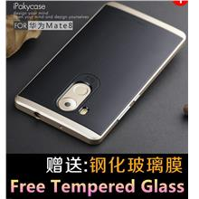 iPaky Huawei Mate 8 Mate8 Neo Hybrid Case Cover Casing +Tempered Glass