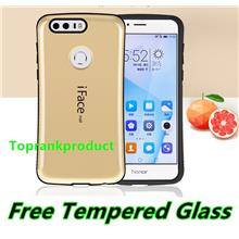 iFace Mall Huawei Honor 8 ShakeProof Armor Case Cover Casing +Glass SP