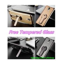 Huawei Mate 9 / Pro Silicone Armor Case Cover Casing + Tempered Glass