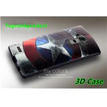LG Optimus G4 3D Silicone Rubber Soft Back Case Cover Casing + Gift