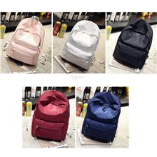 Women Men Backpack Casual Nylon Adjustable Travel Students Shoulder Ba