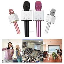 Bluetooth Microphone High Sensitivity KTV Music Playing Karaoke Microp