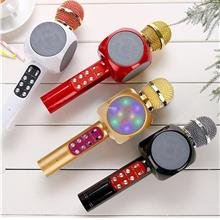 Bluetooth Microphone High Sensitivity KTV Music Playing Karaoke Micro