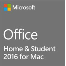MICROSOFT OFFICE HOME & STUDENT 2016 for MAC (GZA-00980)