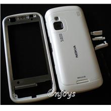 Enjoys: AP ORIGINAL HOUSING Nokia C6 C6-00 ~WHITE ~#FULL SET#