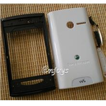 Enjoys: AP ORIGINAL HOUSING Sony Ericsson Yendo W150 ~WHITE ~Full Set
