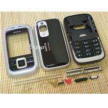 Enjoys: AP ORIGINAL HOUSING Nokia 6111 ~ BLACK ~FULL SET with KEYPAD~