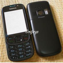 Enjoys: AP ORIGINAL HOUSING Nokia 6303 Classic ~BLACK~ #FULL SET#