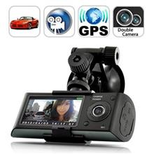 Zoom Dual Car Camera Recorder with GPS (WCR-23A).