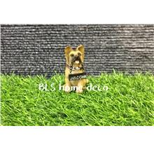 POLYRESIN DOG DECORATION H 7 CM DECORATION BLS822