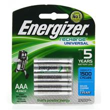 Energizer Rechargeable Battery Universal AAA 4pack 700mAh