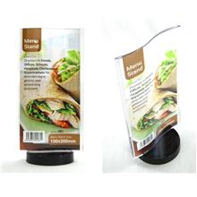Menu Stand Display Advertising Stand Information Stand
