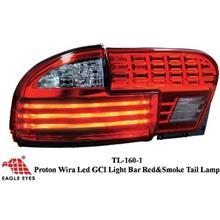 PROTON WIRA 1993 - 2006 EAGLE EYES GCI Light Bar Red Smoke Tail Lamp