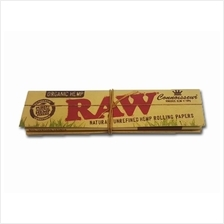 RAW Organic Connoisseur -King Size Slim + Tips Smoking Paper