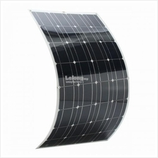 100W 18V 1000*660mm Semi Flexible Solar Panel +Cable For Home Car Boat