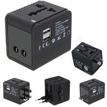 Universal World Travel Adapter + USB POWER PORT (CC104)