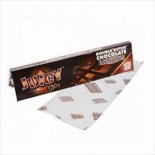 Juicy Jay's King Size Slim Paper - Double Dutch Chocolate