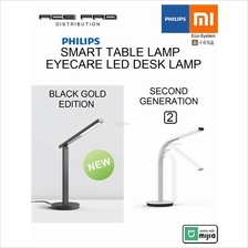XIAOMI PHILIPS Smart Table Lamp 2 / Black Gold Ed - EyeCare Desk LED