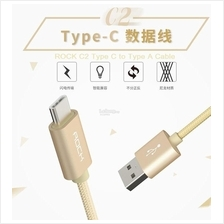 Rock C2 Type C To A USB Cable FAST CHARGING 250 1000 1800 mm