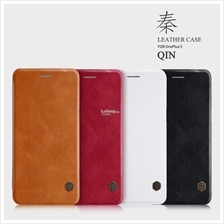 Nillkin Qin Leather Flip Case Cover Oneplus 2 3 5 One Plus
