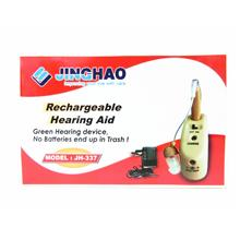 Rechargeable mini hearing aid Jinghao JH-337 BTE behind the ear type