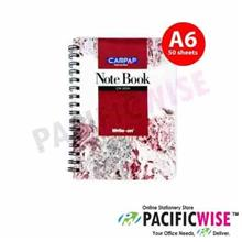 Campap CW2204 WRITE-ON SPIRAL NOTE BOOK (50pg) A6