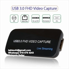 4K Live Streaming Video Capture HDMI USB 3.0 Card HD Recorder