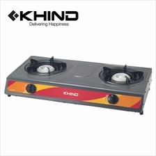 Khind Double Burner Gas Cooker Stove Gc6014
