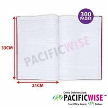 Hard Cover Book Foolscap 300 pg Single Line