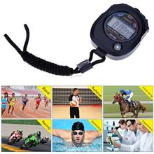 New Waterproof LCD Digital Stopwatch Timer Chronograph Counter Sport A