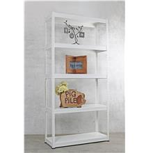 2 in 1 Metal Rack (5 lever) white 3 Unit.