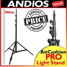 Portable Studio Lighting Stand 2.8m Air Cushioned Light Stand Pro