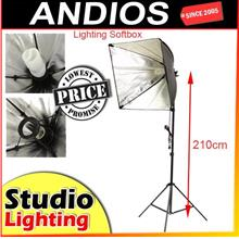 Continuous Lighting Studio Kit.Photography.Light.Lampu Fotografi
