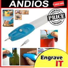 Engrave It-Pen Electric Etching Engraver Engraving Kit Carve Tip Tool