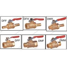 BRASS MINI BALL VALVE (DXX)