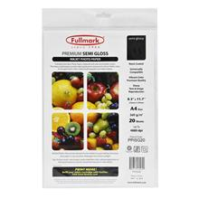 Fullmark Premium Semi Gloss Inkjet Photo Paper PPISG20-20sheet/pack
