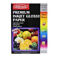Fullmark Premium Inkjet Glossy Paper PPIGL20A3(A3 size)-20sheets/pack