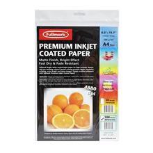 Fullmark Premium Inkjet Coated Paper PPIPA100(A4 size)-100 sheets/pack