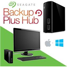 Seagate 4TB / 6TB / 8TB / 10TB Backup Plus Hub Drive HDD - Mac Window