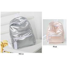 BBD Plain Shiny Color Backpack BG295