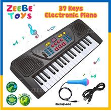 37 Keys Electronic Piano Musical Kids Learning Keyboard Key Toy