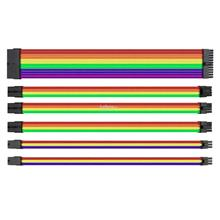THERMALTAKE Cable TTMOD SLEEVE Extension (AC-049-CNONAN-A1) RAINBOW
