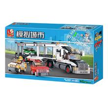 Sluban 0339 Truck Transporter Building Blocks