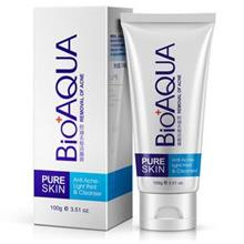BIOAQUA Pure Skin Oil Control Anti-Acne Facial Cleanser 100g